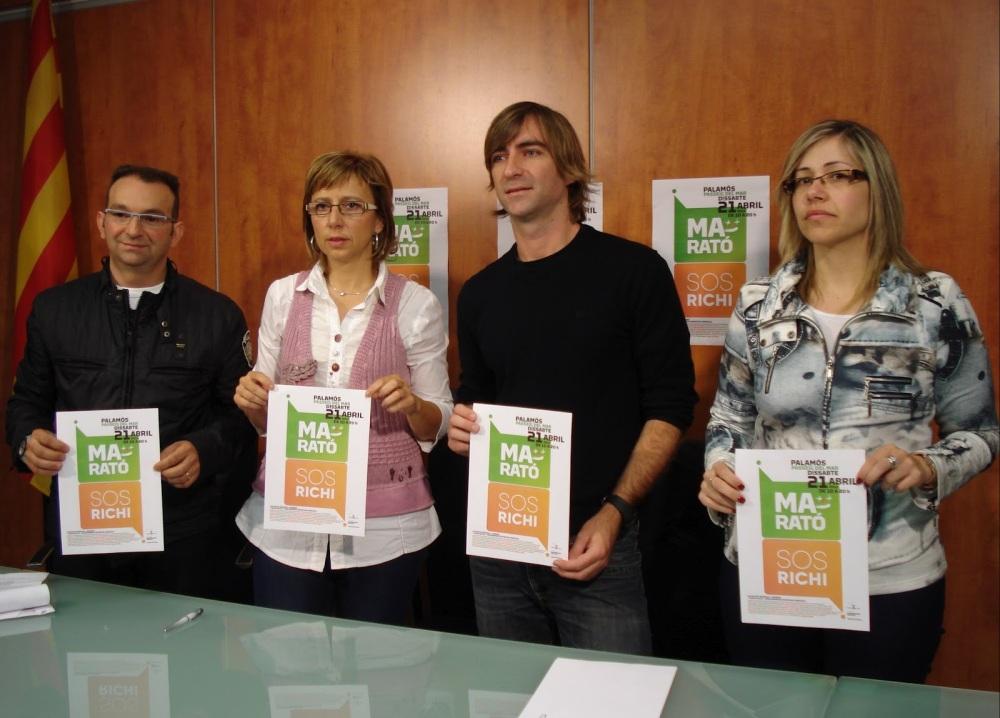 Presentació de la Marató SOS Richi
