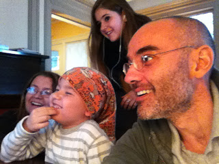 Videoconferencia con la familia